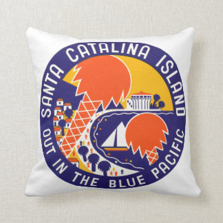 1935 Santa Catalina Island Cushion