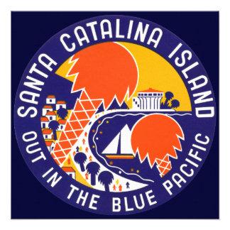 1935 Santa Catalina Island Custom Invites