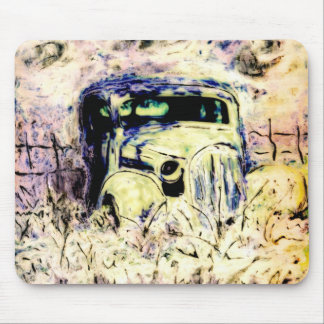 1936 Classic Plymouth Car Mousepad