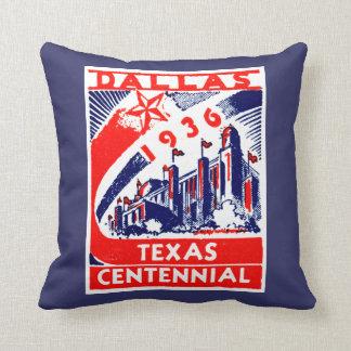 1936 Dallas Texas Centennial Cushion