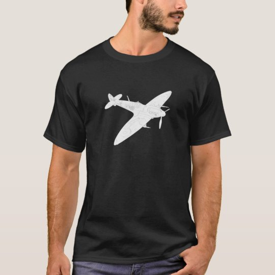 1936 WWII Spitfire Fighter Aircraft T-Shirt