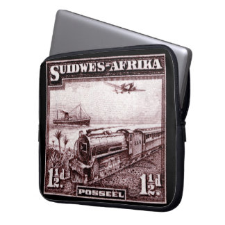 1937 South West Africa Laptop Sleeve