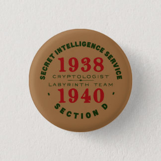 1938-1940 Cryptologist Button