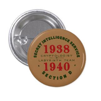 1938-1940 Cryptologist Button