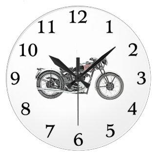 1938 Excelsior Warrior Motorcycle Wallclock