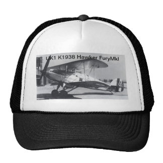 1938 Hawker Fury MkI Cap