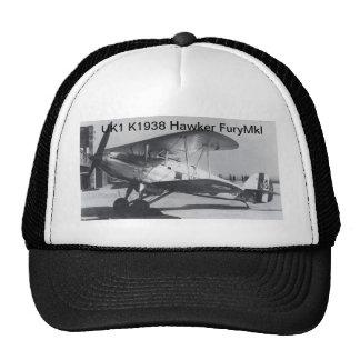 1938 Hawker Fury MkI Mesh Hats