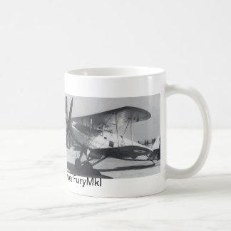 1938 Hawker Fury MkI Coffee Mugs