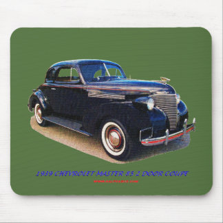 1939 CHEVROLET MASTER 85 2 DOOR COUPE MOUSE PAD