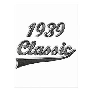 1939 Classic Postcard