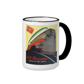 1939 Hiawatha Locomotive Mug