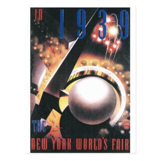 1939 New York World Fair Postcard