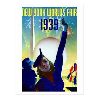 1939 New York World s Fair 2 Postcard