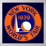 1939 New York World's Fair Poster