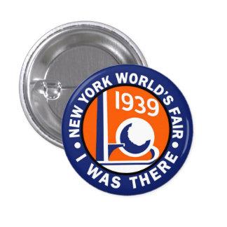 1939 World's Fair Replica Button 1 Inch Round Button