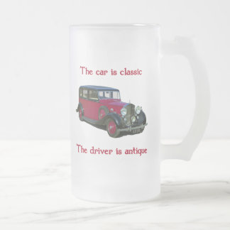1939 Wraith Limo Classic Frosted Glass Mug