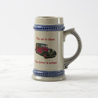 1939 Wraith Limo Classic Beer Steins
