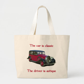 1939 Wraith Limo Classic Canvas Bags