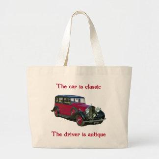 1939 Wraith Limo Classic Jumbo Tote Bag