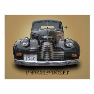 1940 CHEVROLET 1 POSTCARD