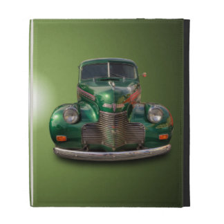 1940 CHEVROLET AND 1937 FORD iPad FOLIO COVER