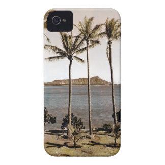 1940 Diamond Head Hawaii iPhone 4 Case-Mate Cases