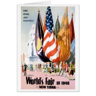 1940 New York World s Fair Card