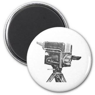 1940 s or 1950 s Broadcast Studio TV Camera Fridge Magnet