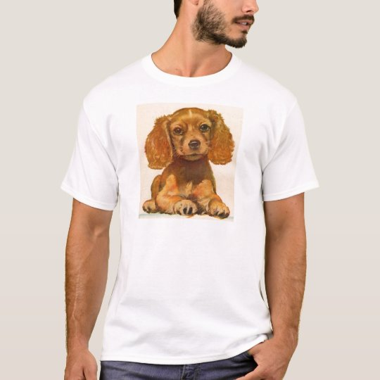 1940s cocker spaniel puppy - The Cutest in History T-Shirt