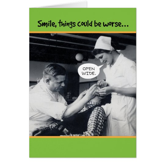 1940s Dentist Things Could Be Worse 60th Birthday Card