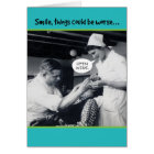 1940s Dentist Things Could Be Worse 70th Birthday Card