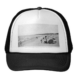 1940's Lake Michigan Beach Scene Cap