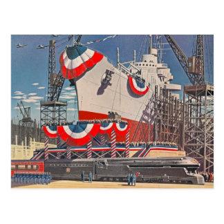 1940's Pennsylvania RR Postcard