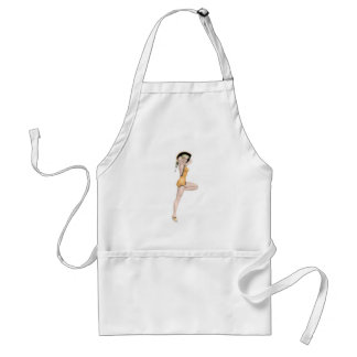 1940s Pin-up Girl Adult Apron