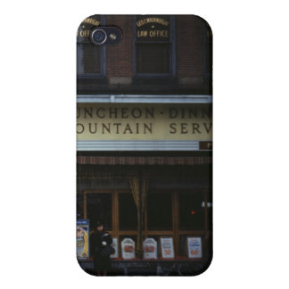 1940s Tea Room Covers For iPhone 4