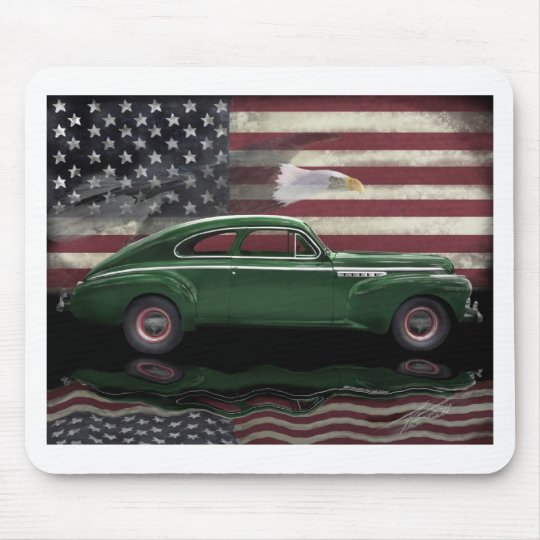 1941 Buick Century Patriot Mouse Mat