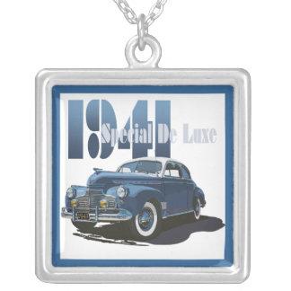 1941 Special De Luxe Coupe Square Pendant Necklace