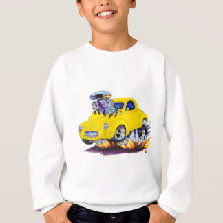 1941 Willys Yellow Car Sweatshirt