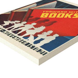 1942 Children's Book Week Canvas