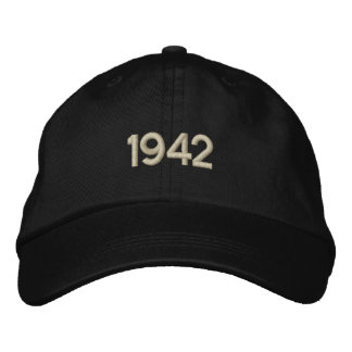 1942 Embroidered Hat