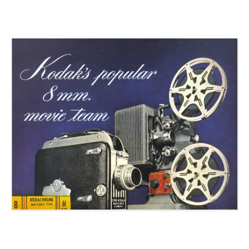 1942 Movie Camera and Projector Post Cards