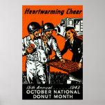 1943 Doughnut Poster
