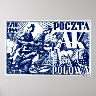 1944 Warsaw Uprising Print