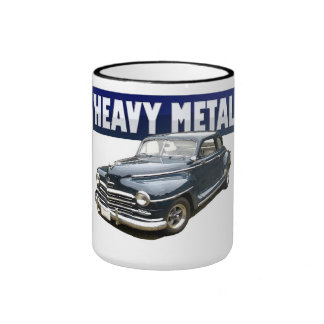 1946 Plymouth Coupe coffee coupe Ringer Mug