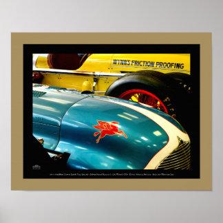 1947 & 1950 Automobiles - detail Poster