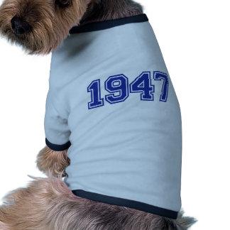 1947 Birthday Dog T-shirt