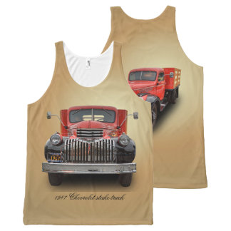 1947 CHEVROLET STAKE TRUCK All-Over PRINT TANK TOP