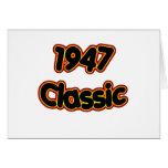 1947 Classic Cards