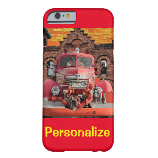 1947 International Fire Truck Design Barely There iPhone 6 Case