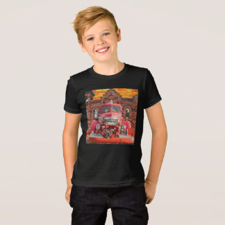 1947 International Fire Truck Design T-Shirt